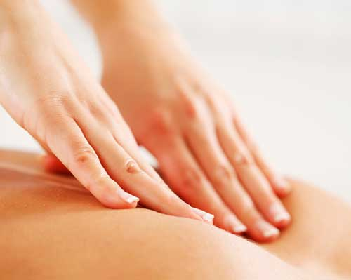 fysiotherapie massage rug